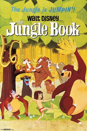 Walt Disney: The Jungle Book- One Sheet