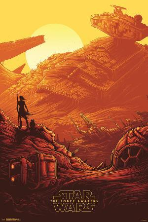 Star Wars: The Force Awakens- Starship Graveyard