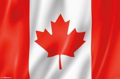 Furrowed Canadian Flag