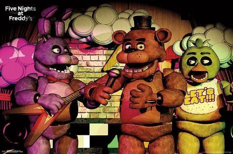 Show me five nights at freddys pictures