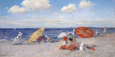 At the Seaside, c.1892