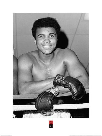 Muhammad Ali- Big Friendly Smile