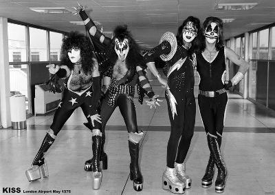 Kiss- London Airport 1976