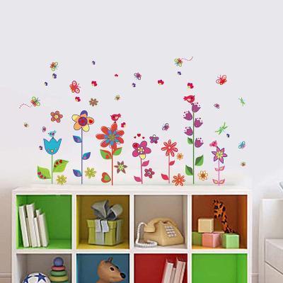 Colourful Flowers Butterflies