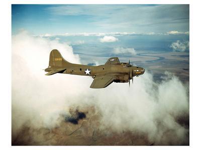 B-17 Flying Fortress Bomber