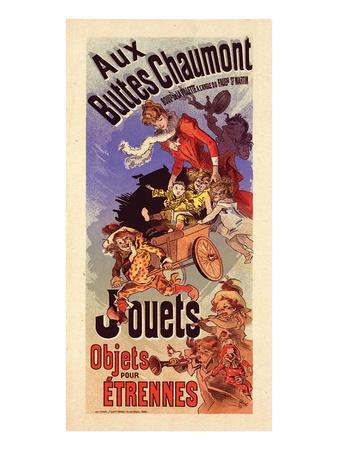 Aux Buttes Chaumont - Jouets