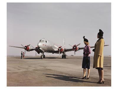 Douglas DC-6 Passenger Plane