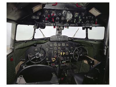 Douglas DC-2 Transporter Cockpit