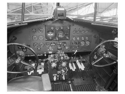 Douglas DC-2 Cockpit