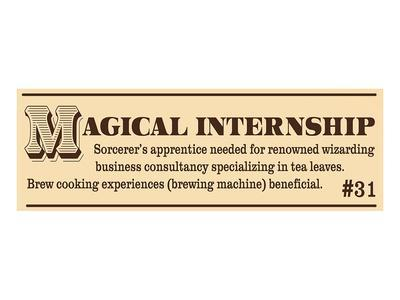 Magical Internship