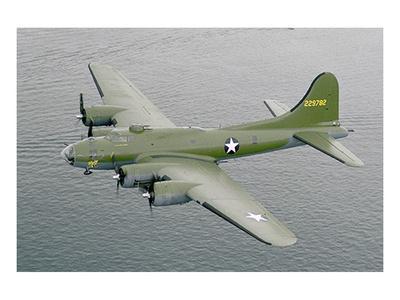 Restored B17F Flying Fortress