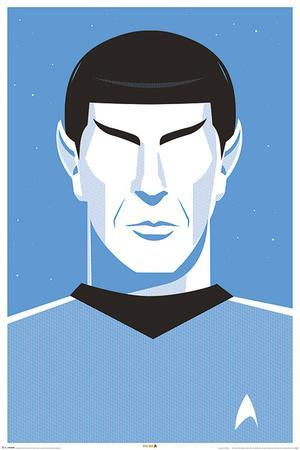 Star Trek: 50th Anniversary- Deco Spock