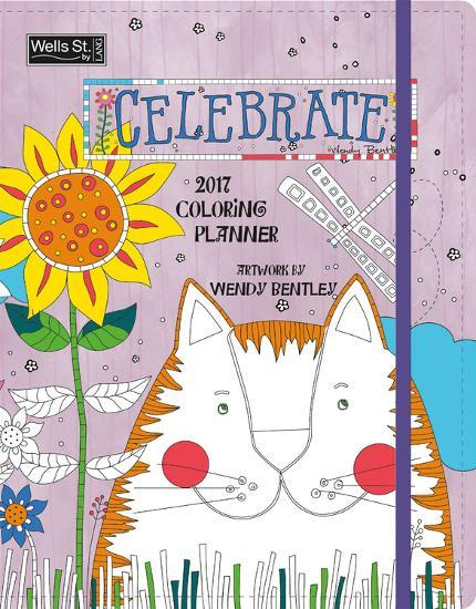 celebrate coloring 2017 monthly planner calendars at allposters com