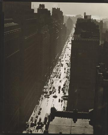 Seventh Avenue looking South from 35th Street, Manhattan
