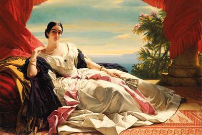 Portrait of Leonilla, Princess of Sayn-Wittgenstein-Sayn, 1843