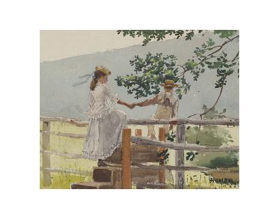 On the Stile, 1878