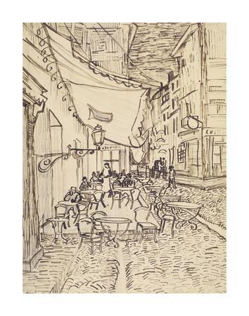 Cafe Terrace at Night, 1888