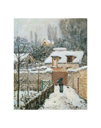 Snow at Louveciennes, 1874
