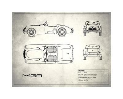 MG MGA White