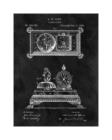 Alarm Clock, 1888-Black