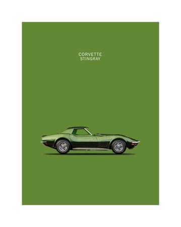 Corvette Stingray 1970 Green