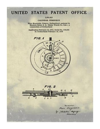Calendar Time Piece, 1950- Ant