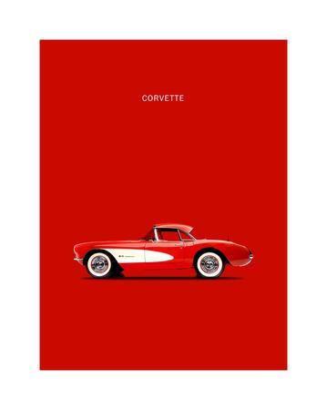 Corvette 1957 Red