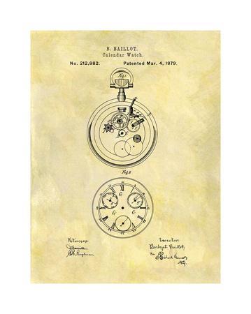 Calendar Watch, 1879