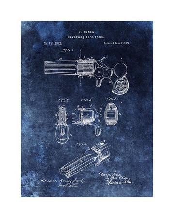 Revolving Fire Arms, 1874-Blue