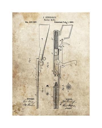 Parlor Rifle, 1881