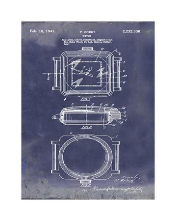 Rolex Watch, 1941-Light Blue