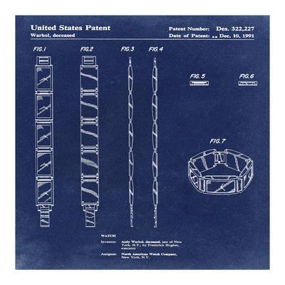 Warhol Watch, 1991-Antique Blu
