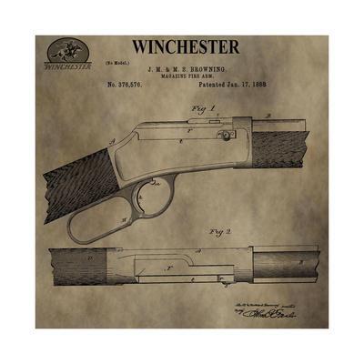 Winchester Magazine Fire Arm,