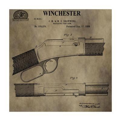 Winchester Magazine Fire Arm,