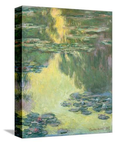 Waterlilies 1907 by Claude Monet Canvas Print Poster FRAMED
