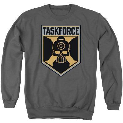 Crewneck Sweatshirt: Suicide Squad- Taskforce X Shield
