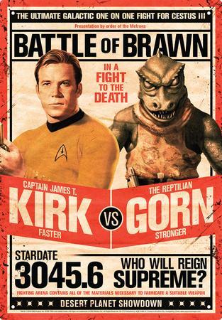Star Trek - Kirk vs Gorn
