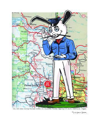 Harvey Rabbit Reedville, Oregon