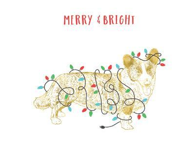 Merry And Bright Dog