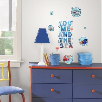 Finding Dory and Friends Peel and Stick Wall Decals