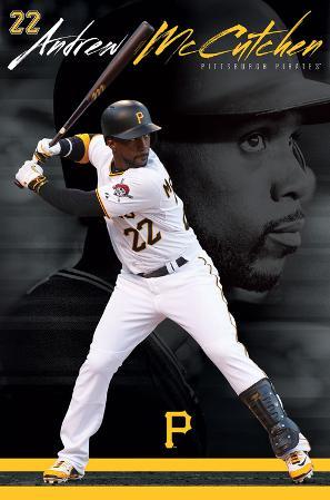 MLB: Pittsburgh Pirates- Andrew Mccutchen