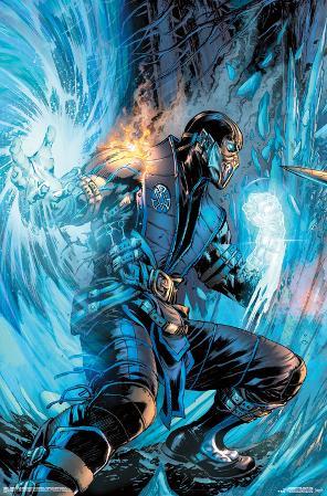 Mortal Kombat- Sub-Zero Comic