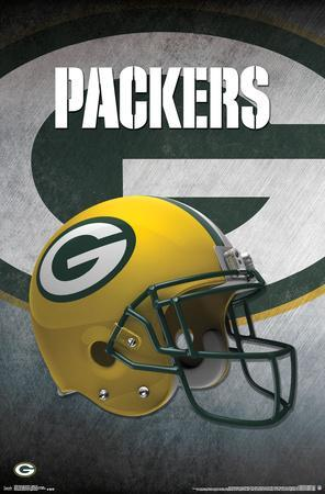 NFL: Green Bay Packers- Helmet Logo