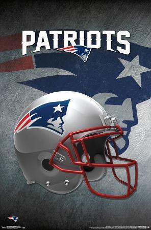 NFL: New England Patriots- Helmet Logo