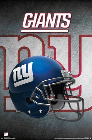 Nfl New York Giants Helmet Logo Posters At Allposters Com