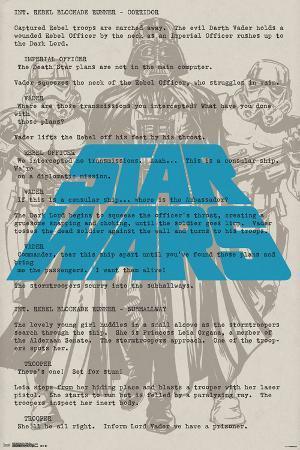 Star Wars- Vader On Script