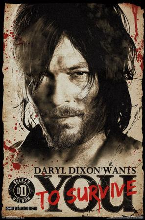 Walking Dead- Daryl Wants You