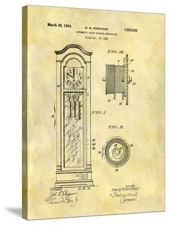 Automatic Clock Winding Mechan