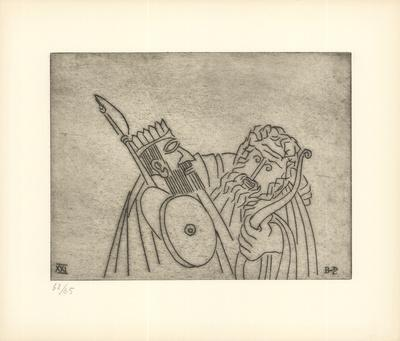 Gilgamesh Challenges Enkidu to fight the Monster Humbaba with Him (XXI)