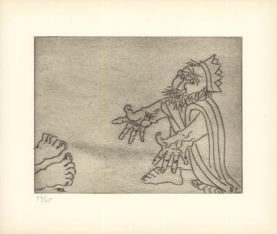 The Fate of Enkidu Weighs on Gilgamesh (XXIX)